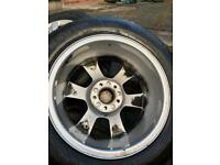 16 INCH AUDI A4 ALLOYS WHEELS AND TYRES