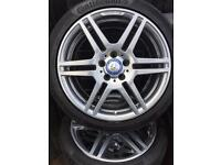 Mercedes Twin spoke Alloys