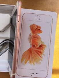 iPhone 6s 32gb rose gold 6 months Apple warranty