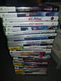 Xbox 360 with kinnect plus games