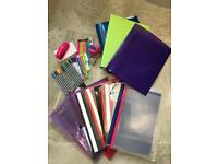 Huge bundle of stationery perfect for school, work, college or uni etc!