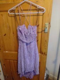 Top Shop Pretty Purple Dress - Size 12
