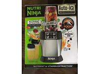 Nutri ninja blender with auto IQ one touch