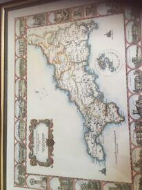 Framed Print of Cornwall