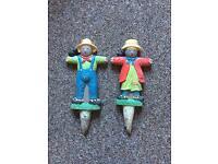 Scarecrow garden ornament