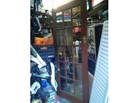 Hard wood door used but in excellent condition