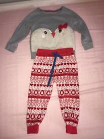 M&S girls pyjamas