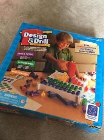 Design and drill kids game