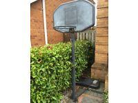 Free basketball net
