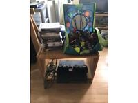 PS3 320gb Slim, two controllers, 14 games and a bunch of Skylanders