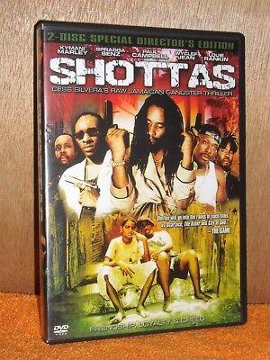 Shottas (DVD, 2006) Ky-Mani Marley, Wyclef Jean, Spragga Benz jamaican scarface