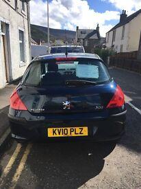 Peugeot 1.6 petrol 2010