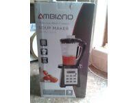 Ambiano 2litre 900w soup maker machine - brand new in box