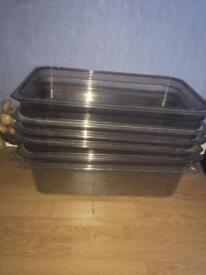 Trays and Spoons