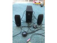 Logitech sound system £10 bargain