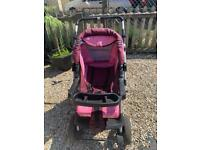 3 in one pram with accessories