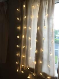 Decorative hanging lights curtain
