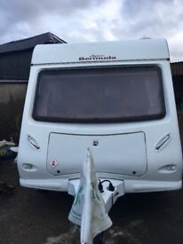 2010, Xplore 596 Bermuda, twin Axle,6 birth Caravan, lovely condition, with some equipment