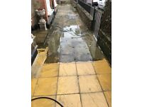 Patio -Driway cleaning service