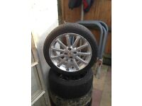 MG ROVER ALLOY WHEELS, WILL FIT ROVER, HONDA ETC