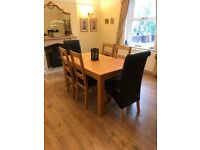 Dining Table With 6 Chairs Matching Side Board