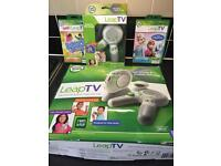 Leap Frog Leap TV with 2 controllers and 2 games