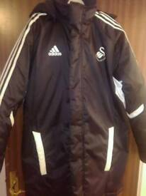 Swansea city coat