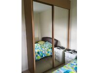 Sliding wardrobe mirrors