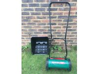 Qualcast panther 30 hand powered lawnmower