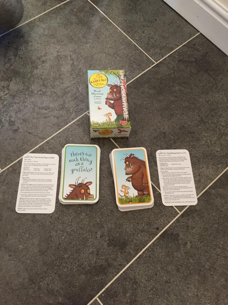 Gruffalo playing cards
