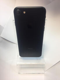 Boxed As New Apple iPhone 7 256GB Black Mobile Phone + 3 Month Warranty! Perfect Deal for YOU!