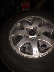 Kia Sedona alloys&tyres