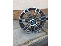 19inch bmw spare wheel