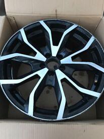 Santiago style alloy rims Audi Vw Skoda Seat