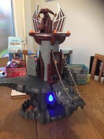 Playmobil dragon and knight play set