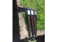 4 metposts met posts bolt type 75 x 75