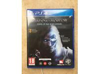 Shadow of Mordor PS4 game of the year edition