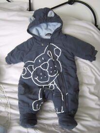 Next baby snowsuit