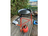 Paella Burner and Pan Set For Hire - Ole! Weekend hire £50