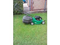 Lawn mower self-propelled