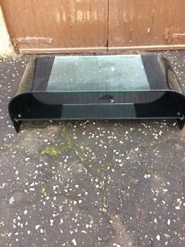 Glass Television Unit