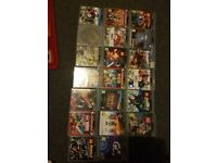 Playstation 3, headset, 3 controllers and 20 games
