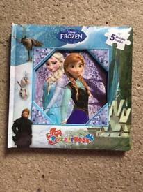 My first puzzle book Disney Frozen