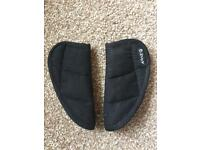Car Seat Strap Covers Black Universal Bruin Kids Childrens Buggy Pushchair