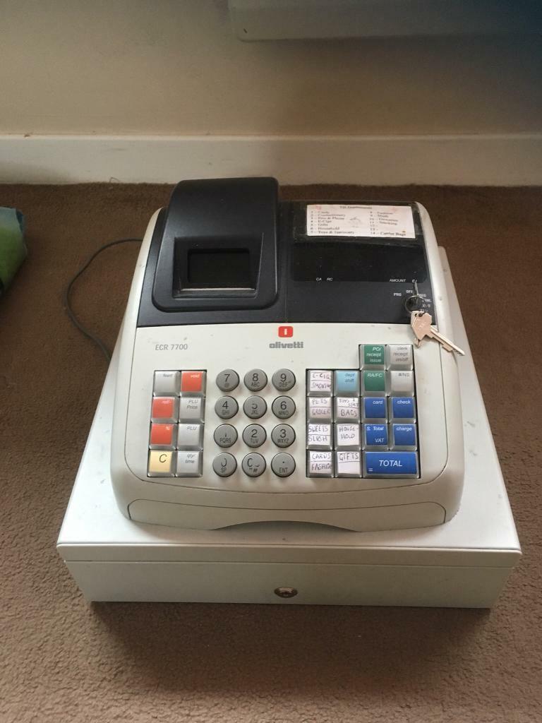 Olivetti cash register/ till | in Kennoway, Fife | Gumtree