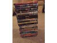 Bulk of 24 DVD's
