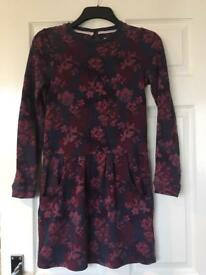 Girls clothes age 12 new fat face dress