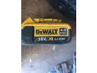 Dewalt genuine battery