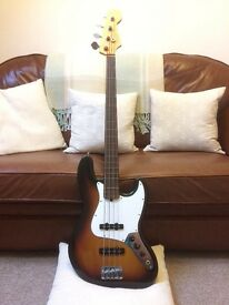1999 Fender American Fretless Jazz Bass
