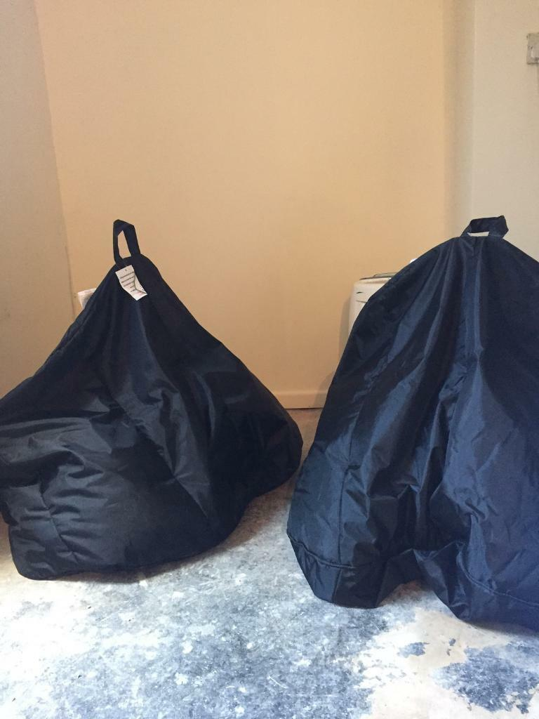 Strange Two Heavy Duty Bean Bags With Spare Filler In Hyde Park West Yorkshire Gumtree Creativecarmelina Interior Chair Design Creativecarmelinacom